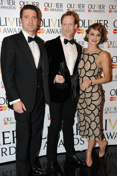 Tom Chambers, Edward Watson and Kara Tointon