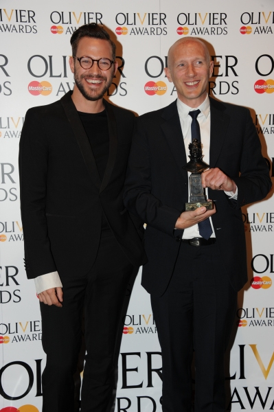 Will Young and Peter Darling