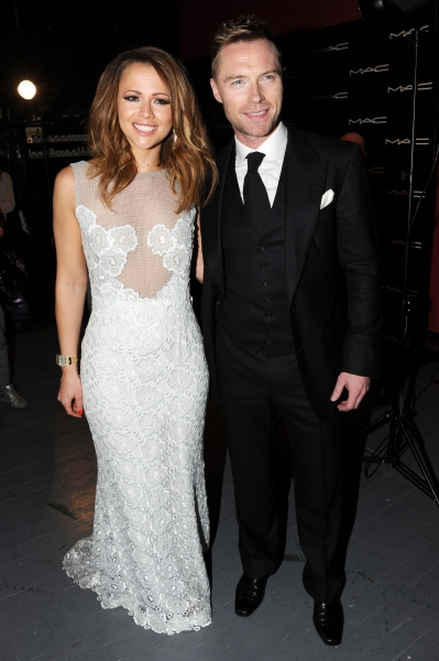 Kimberly Walsh and Ronan Keating