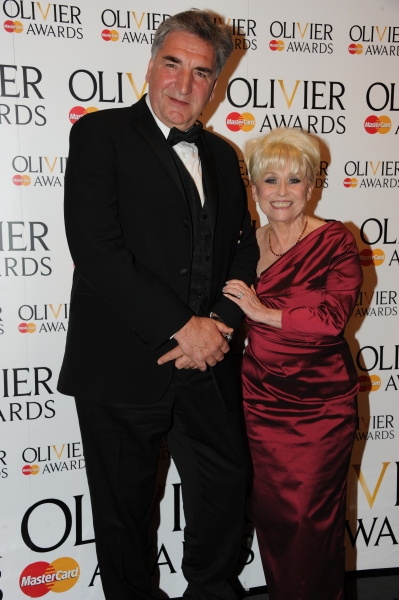 Jim Carter and Barbara Windsor