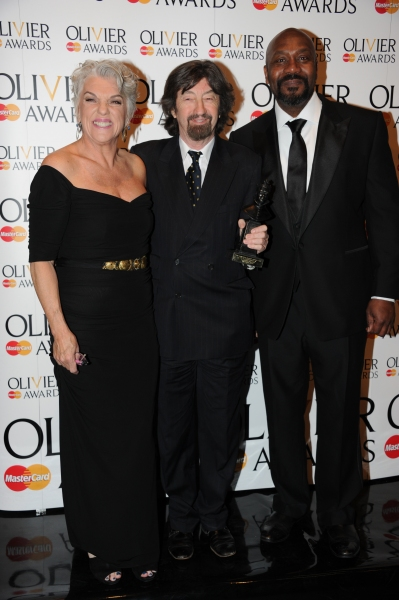 Tyne Daly, Trevor Nunn and Lenny Henry at 2012 Olivier Awards; MATILDA Cast and More in the Winners' Room!