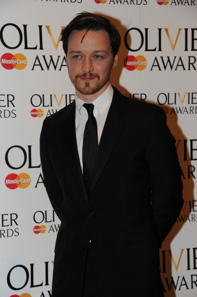 James McAvoy at 2012 Olivier Awards; MATILDA Cast and More in the Winners' Room!