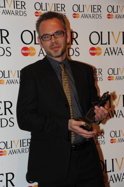 Simon Baker at 2012 Olivier Awards; MATILDA Cast and More in the Winners' Room!