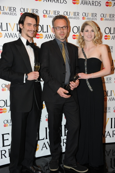 Harry Lloyd, Simon Baker and Jodie Whittaker at 2012 Olivier Awards; MATILDA Cast and More in the Winners' Room!