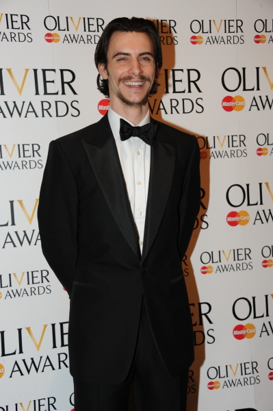 Harry Lloyd at 2012 Olivier Awards; MATILDA Cast and More in the Winners' Room!