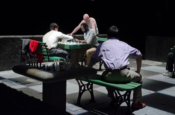 Raúl Castillo, Cedric Mays, Mike Cherry, Gordon Chow