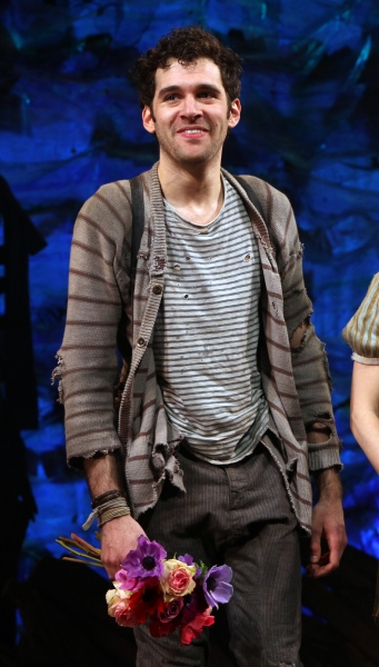Adam Chandler-Berat at PETER AND THE STARCATCHER - Opening Night Curtain Call on Broadway!