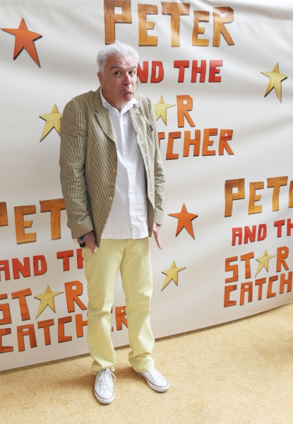 David Byrne  at PETER AND THE STARCATCHER Opening Night - All the Stars!