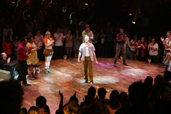 Photo Flash: Hunter Parrish Takes Final Bow in GODSPELL!