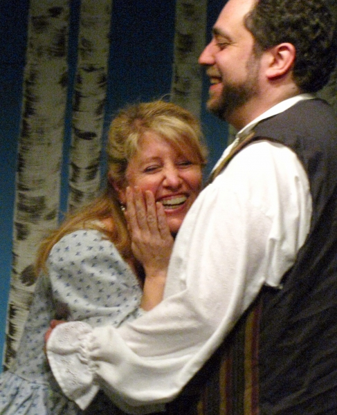 Margaret DeAngelis and Aaron Wexler