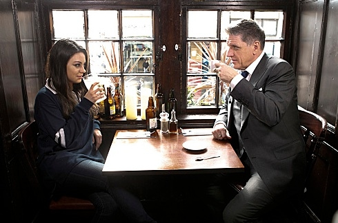 Mila Kunis & Craig Ferguson at First Look - Mila Kunis et al Join CRAIG FERGUSON in Scotland, Beg. 5/14