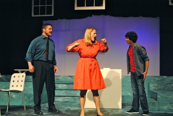 Dean Davis, Wendy Baird and Brady Stevens