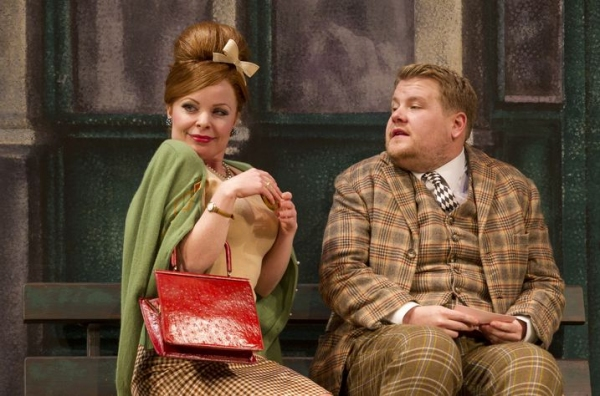 One Man, Two Guvnors Production Photo - Suzie Toase, James Corden