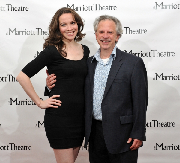 Patricia Noonan and Ross Lehman at Marriott Theatre's PIRATES OF PENZANCE on Opening Night!