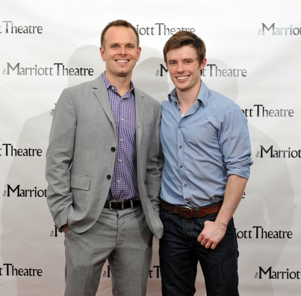 Ryan Nelson and Sam Rogers at Marriott Theatre's PIRATES OF PENZANCE on Opening Night!