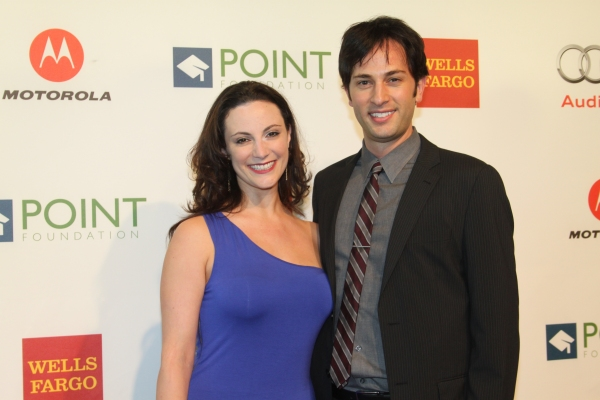 Trista Moldovan and Kyle Barisich at Point Honors New York 2012 Gala