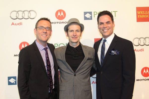 Ted Allen, Denis O'Hare and Jorge Valencia