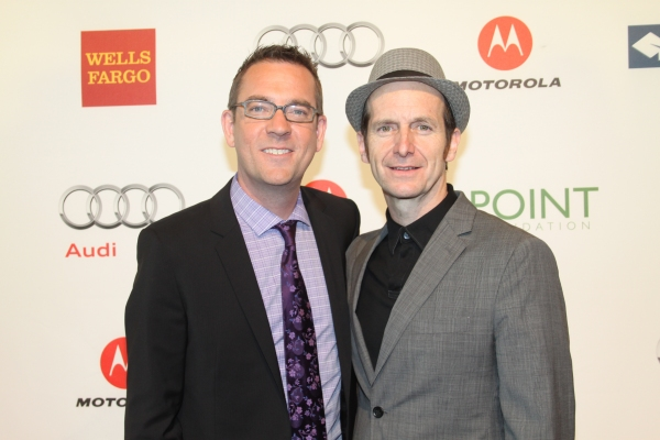 Ted Allen and Denis O'Hare at Point Honors New York 2012 Gala