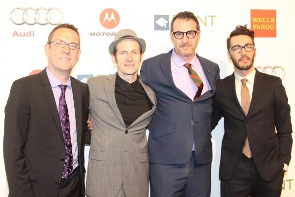 Ted Allen, Denis O'Hare, Jon Robin Baitz and David Tripp Photo