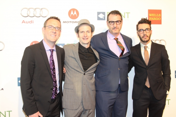 Ted Allen, Denis O'Hare, Jon Robin Baitz and David Tripp