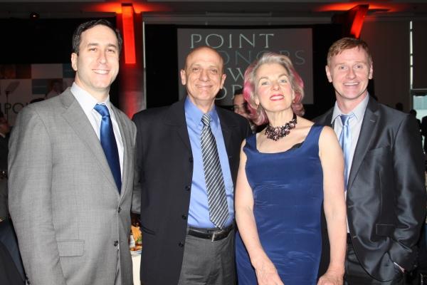 Dan Whitman, Tom Viola, Lorna Kelly and Robert Bartley Photo