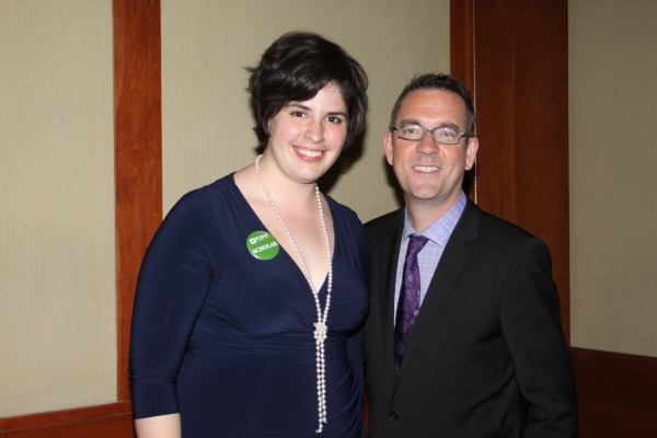 Point Scholar Taylor Clarke and Ted Allen at Point Honors New York 2012 Gala