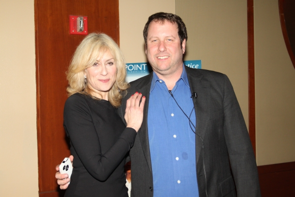 Judith Light and Scott Dill