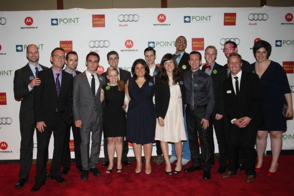 Ted Allen, Point Scholars and Alumni at Point Honors New York 2012 Gala