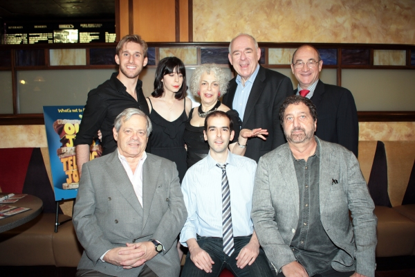 b: Bill Army, Audrey Lynn Weston, Marilyn Sokol, Lenny Wolpe, Todd Susman f: Daniel O Photo