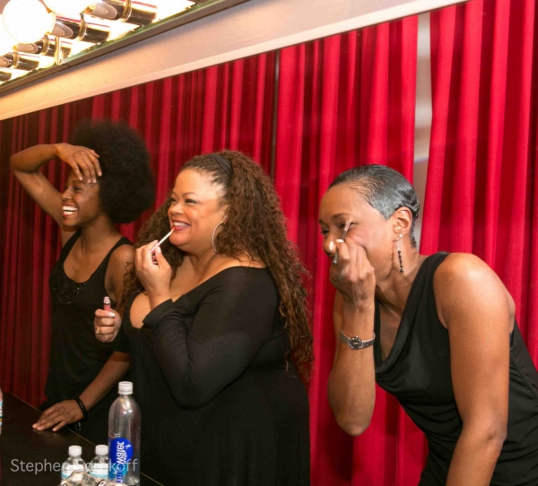 Kimberly Marable, Natalie Douglas, Tanya Holt at Natalie Douglas Brings FREEDOM SONGS to Birdland!