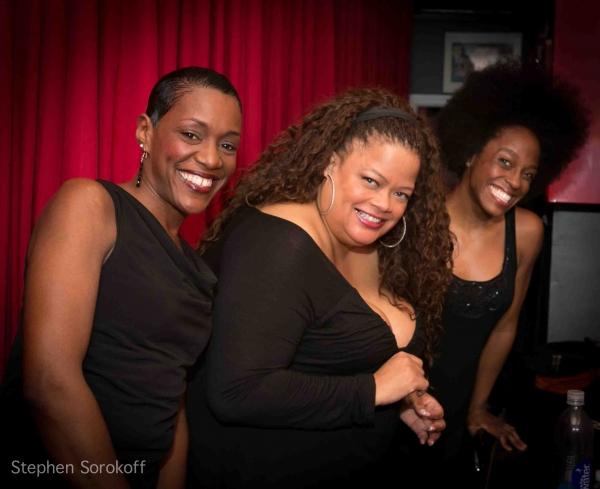 Tanya Holt, Natalie Douglas, Kimberly Marable at Natalie Douglas Brings FREEDOM SONGS to Birdland!