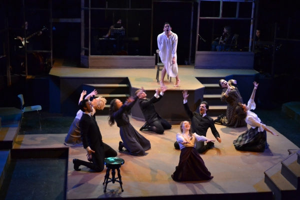 Photo Flash: Sneak Peek at Bryan Gula & Tori Gresham in Balagan's SPRING AWAKENING
