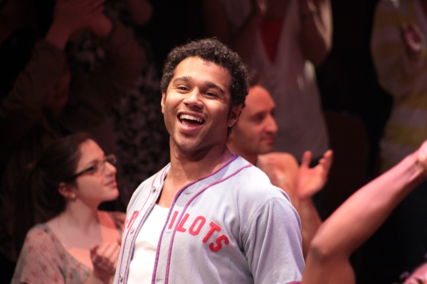 Photo Coverage: Corbin Bleu's First Curtain Call in GODSPELL; Plus Cast Party Photos!