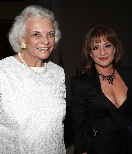 Sandra Day O'Connor & Patti Lupone Photo