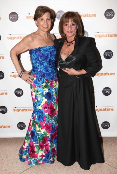 Adrienne Arscht & Patti Lupone