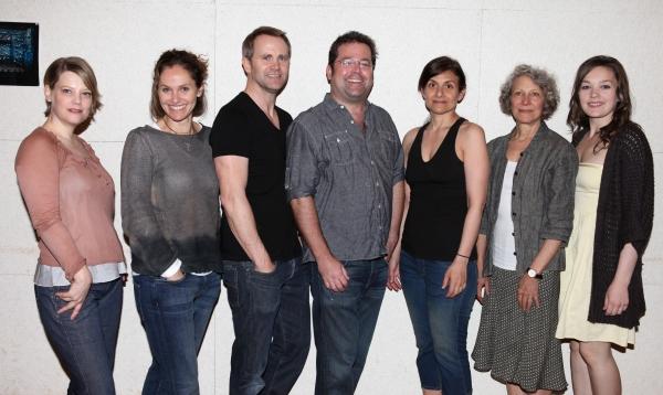 Kellie Overbey, Lee Tergesen, Amy Brenneman, Director Peter DuBois, Playwright Gian Gionfriddo, Beth Dixon & Virgina Kull