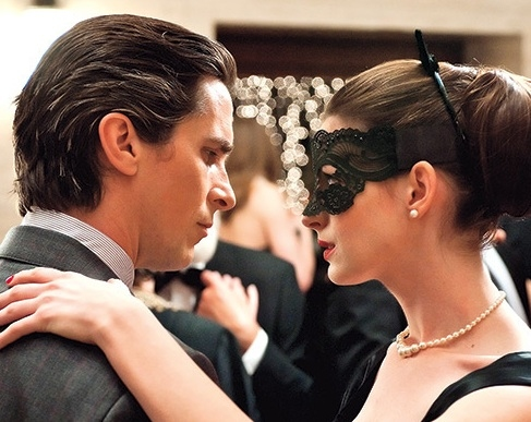 Christian Bale & Anne Hathaway at