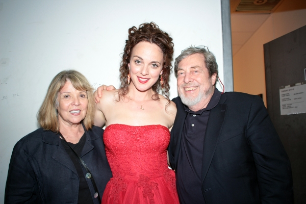 Gen LeRoy, Melissa Errico, Tony Walton at Melissa Errico Back at Joe's Pub!
