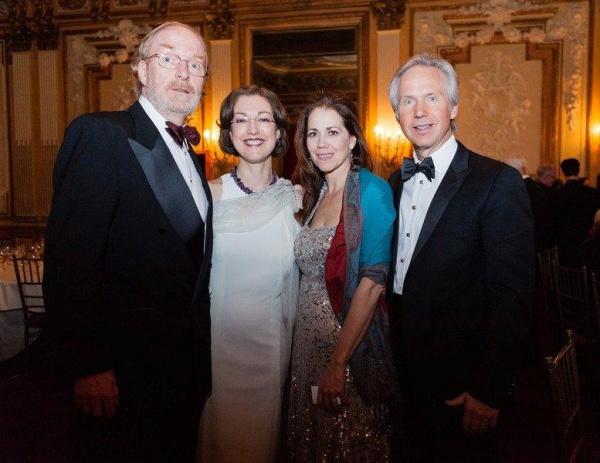 Michael Sekus, Bianca Russo, Elizabeth Futral, & Steven White at Inside the 2012 GL!MMERATA! Spring Gala