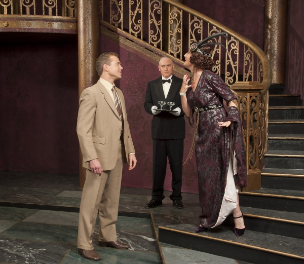 Mark Doran (Joe), Phil Mambert (Max), Maureen Andrew (Norma) at First Look at CLOC's SUNSET BOULEVARD