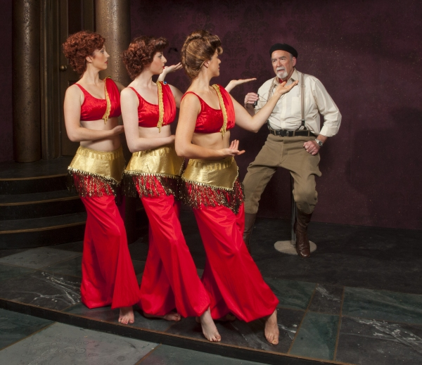 Ken Jones (Cecil B. DeMille) & harem girls