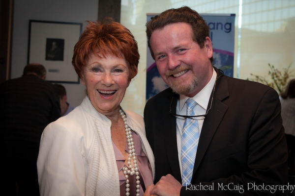 Marion Ross and Jim Roe