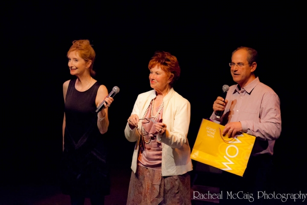 Sheila McCarthy, Marion Ross and David Eisner