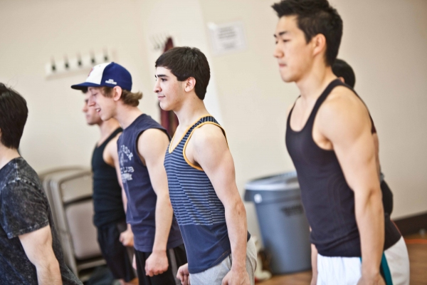 Photo Coverage: On Set of SUBMISSIONS ONLY with the 'NEWSIES'!