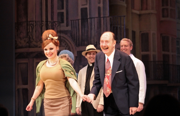 Suzie Toase, Fred Ridgeway at ONE MAN, TWO GUVNORS Opens on Broadway - Curtain Call and After Party!