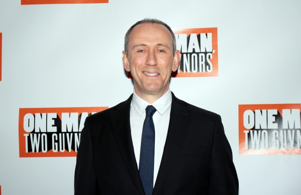 Nicholas Hytner at ONE MAN, TWO GUVNORS Opens on Broadway - Curtain Call and After Party!
