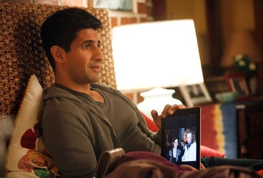 Raza Jaffrey at New Photos from SMASH's 'Publicity Episode', Airing 4/23