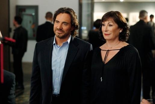 Thorsten Kaye & Anjelica Huston at New Photos from SMASH's 'Publicity Episode', Airing 4/23