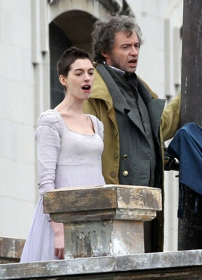 Photo Flash: First Look at Anne Hathaway as 'Fantine' in LES MISERABLES!