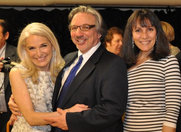 Catherine Russell, Peter Breger and Lauren Class Schneider Photo